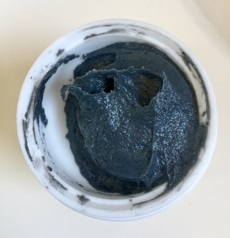 Pore Steam Mask - reminded me of a scrub and charcoal mask.