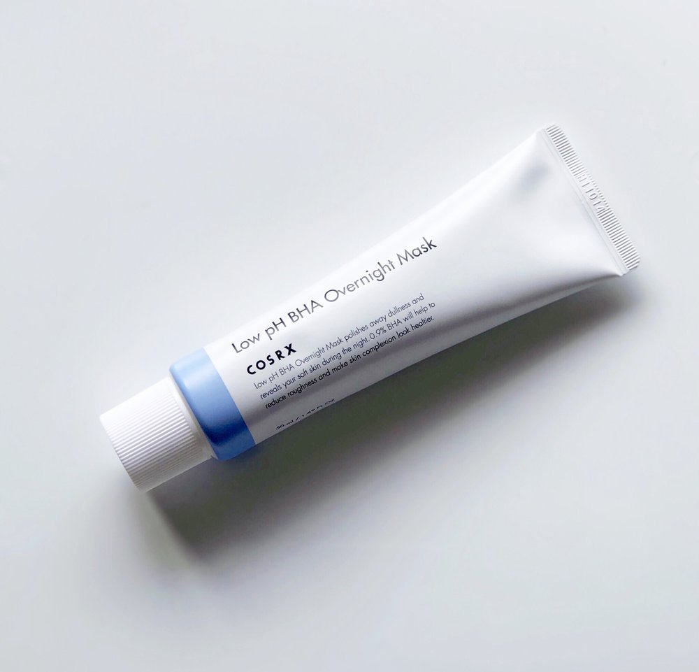 First Impression: COSRX Low pH BHA Overnight Mask — Devoted to Dew