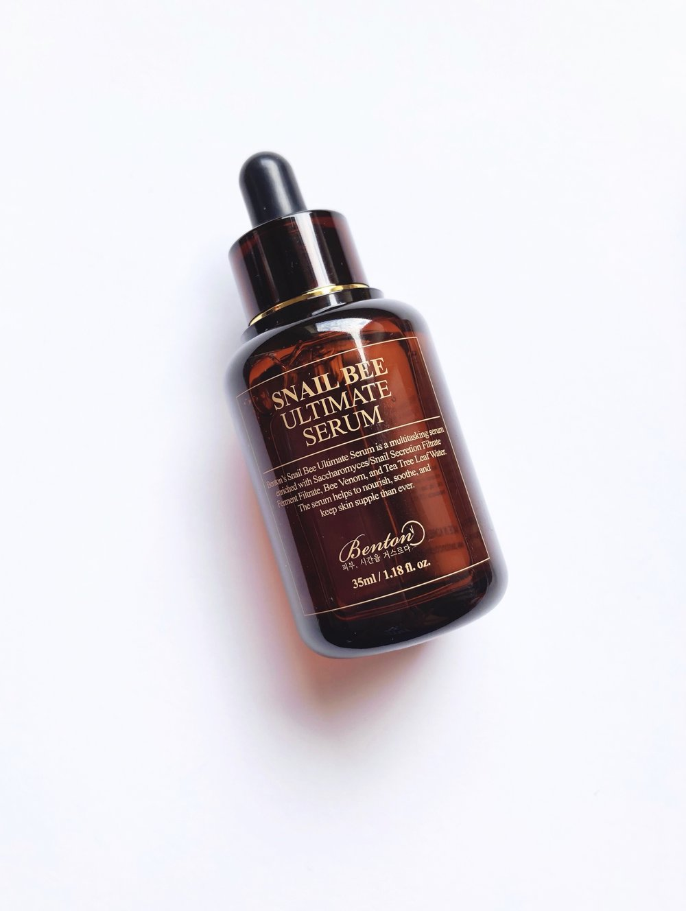 Product Review: Benton Snail Bee Ultimate Serum — Devoted to Dew