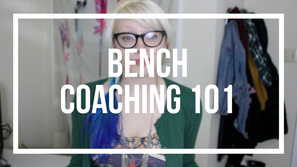 Roller Derby Bench Coaching 101