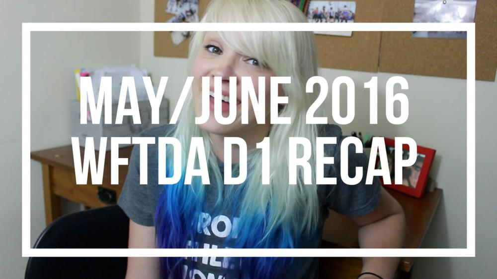 May/June 2016 WFTDA D1 Recap | Roller Derby