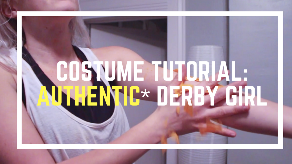 *4 Steps to an Authentic Roller Girl Costume | Roller Derby