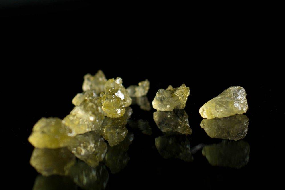 THCa Diamonds from  MPX's AZ lab. Captured by Cole Renoe