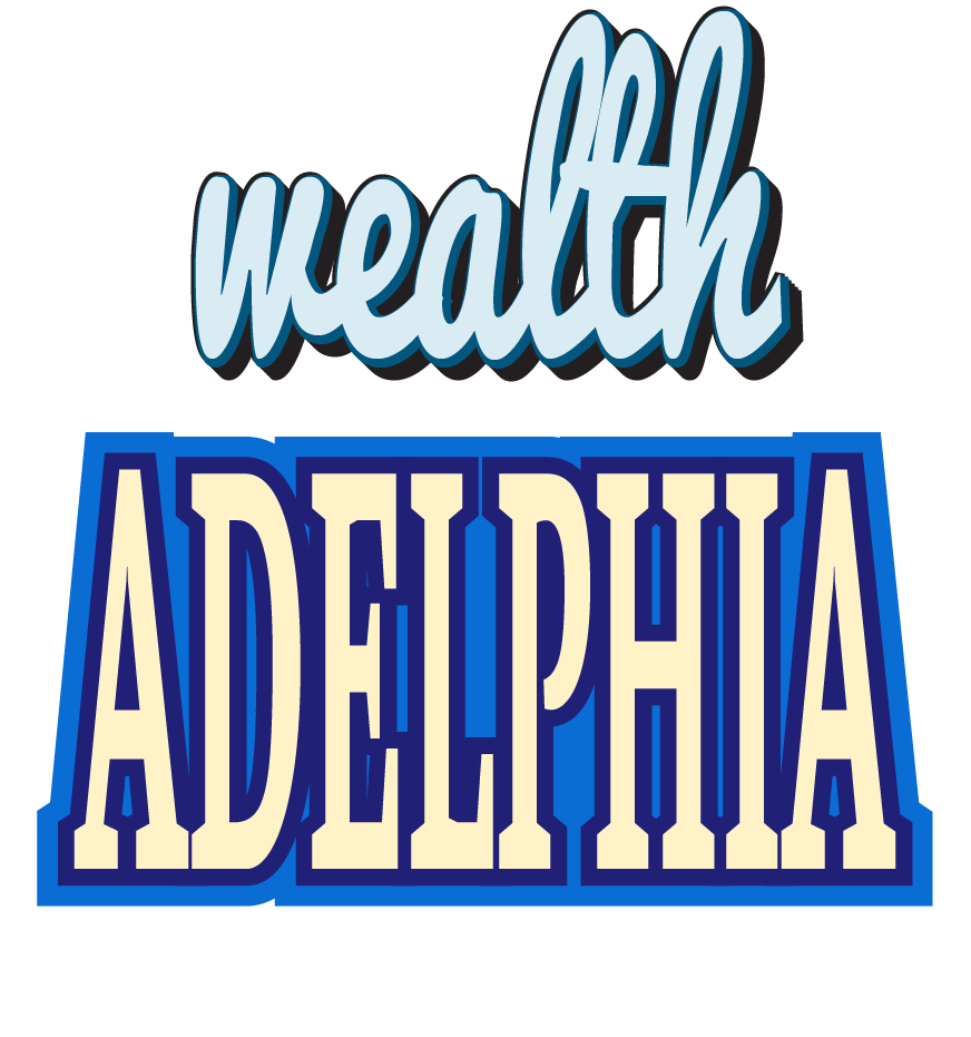 One of several variations of the current wealthADELPHIA logo