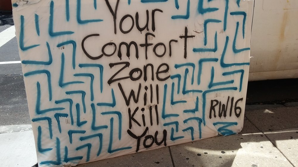I found this on Bainbridge Street one day. Credit: RW16