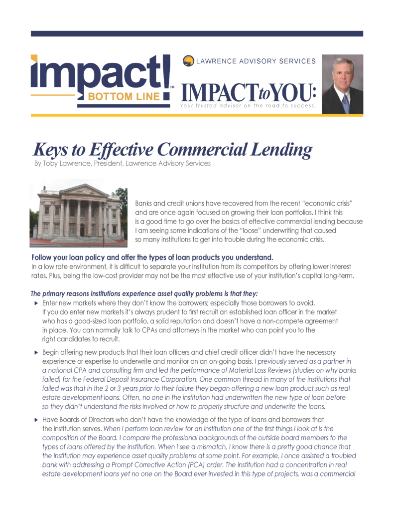 LAS Article IMPACT.CurrentTrendsinEffectiveCommercialLending_Page_1