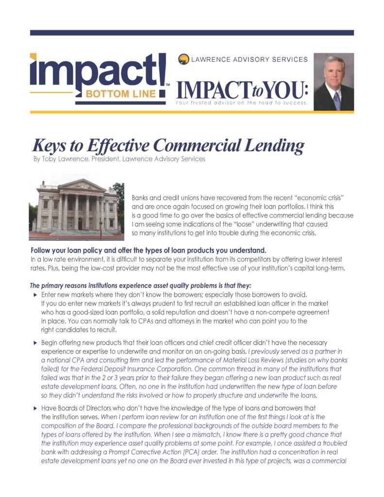 LAS Article IMPACT.CurrentTrendsinEffectiveCommercialLending_Page_1