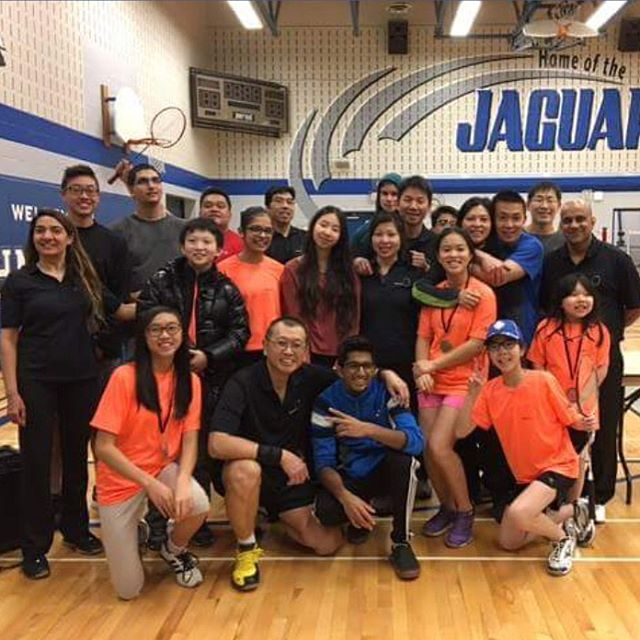 Throwing it back to our 2017 Don Rogerson Doubles tournament  Registration for next season is already up:  http://erindalejrbc.ca/wp-content/uploads/2016/10/EJBC-Registration-2016-2017.pdf  #badminton #badmintoncanada #badmintonontario #badmintonlife #badmintontraining