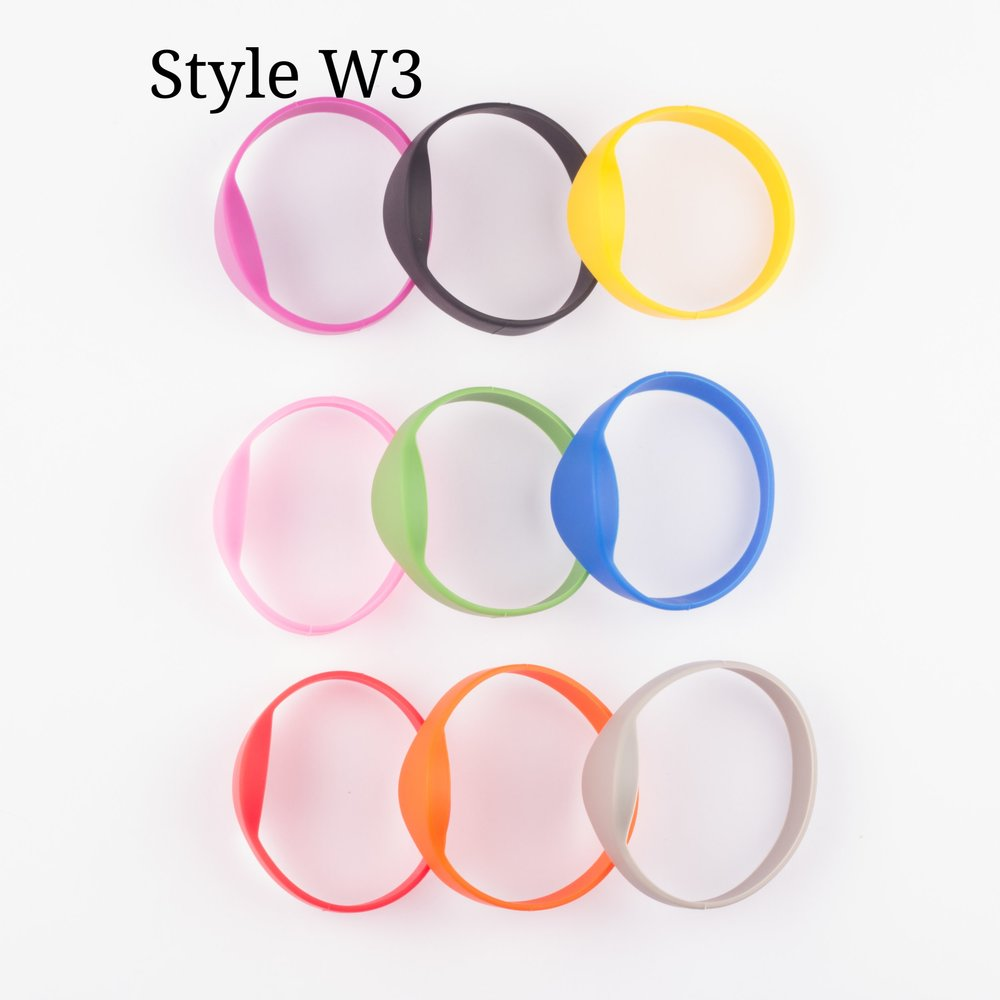 Fixed Size Wristbands