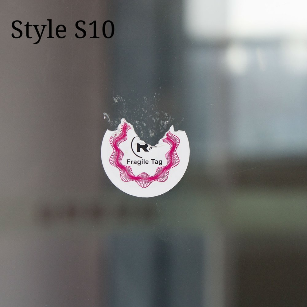 Anti-Tamper NFC Sticker with Breakable Surface