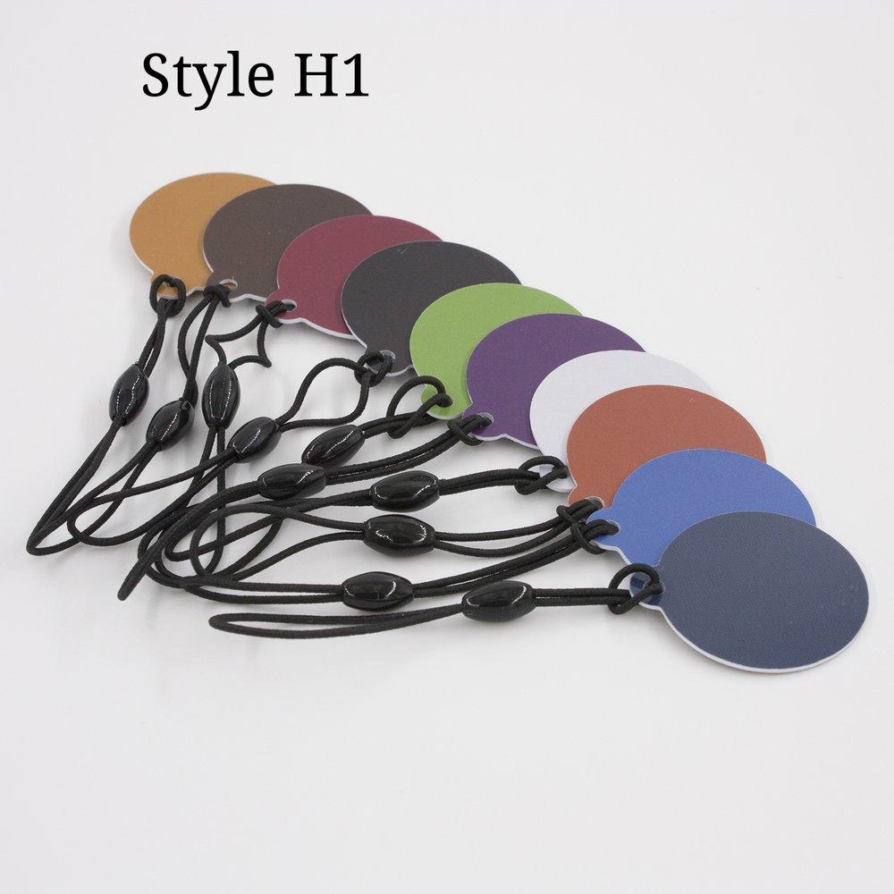 Hang Tags in Custom Colors