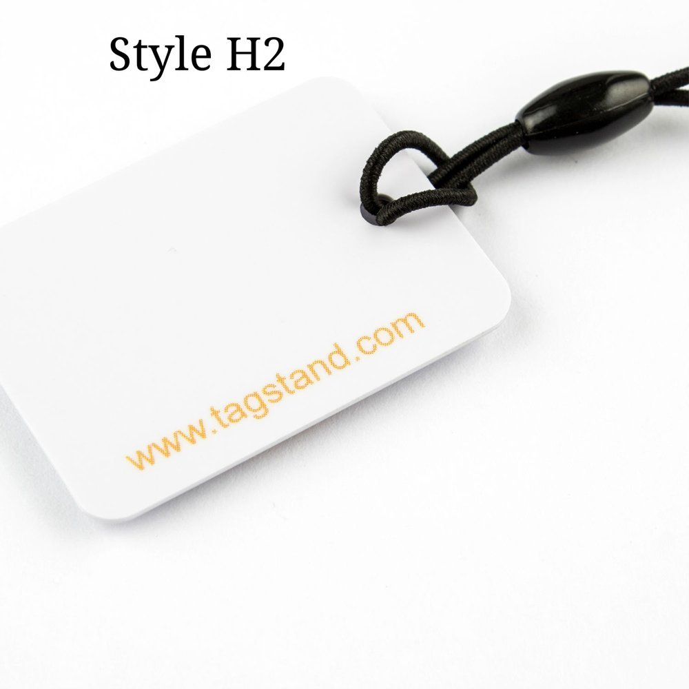 PVC Hang Tag with Laser Scribing