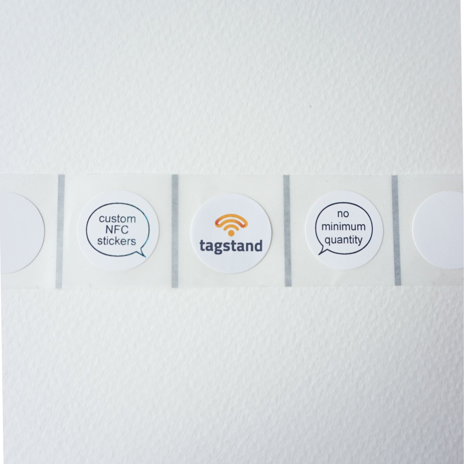 Small quantity custom NFC tags are here! — Tagstand