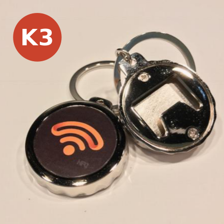 NFC Bottle Opener Keychain