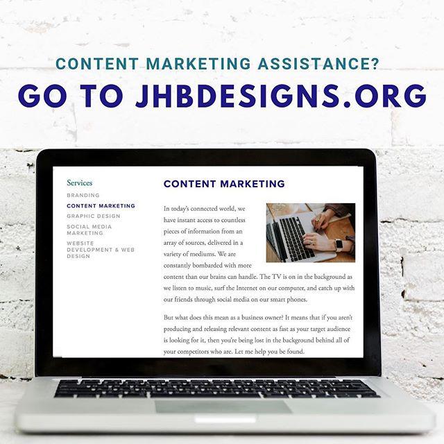 Blog Posts & Social Media Posts to Copywriting & Email Marketing, I can help your business thrive online. Go to jhbDesigns.org #jhbdesigns #marketing #digitalmarketing #entrepreneurs #socialmediamarketing  #content #marketyou #customizedpackages