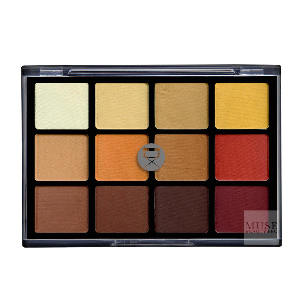 VISEART Eyeshadow Palette 10: Warm Mattes | 2016