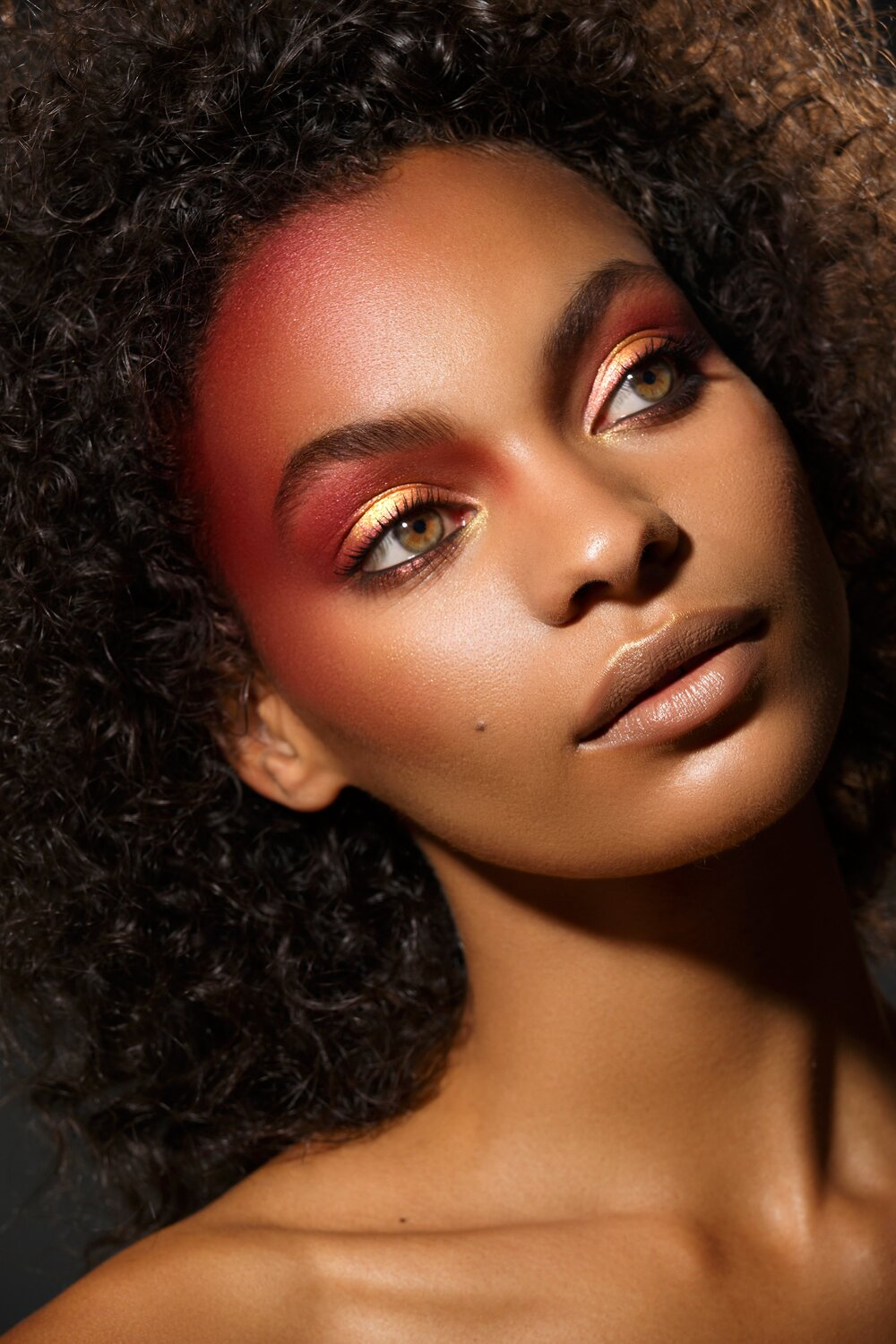 VISEART Cosmetics 2018: Grande Pro 2 - Fall Campaign  MUSE: Sophia Jackson  PHOTO: Lorraine Young  HAIR: Louise Frost  MAKEUP: Alphonse Wiebelt