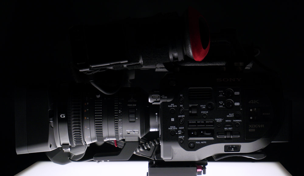 The Sony PXW-FS7 is our bread and butter DCI 4K camera. Delivered on ProRes. Camera original .MXF files available.
