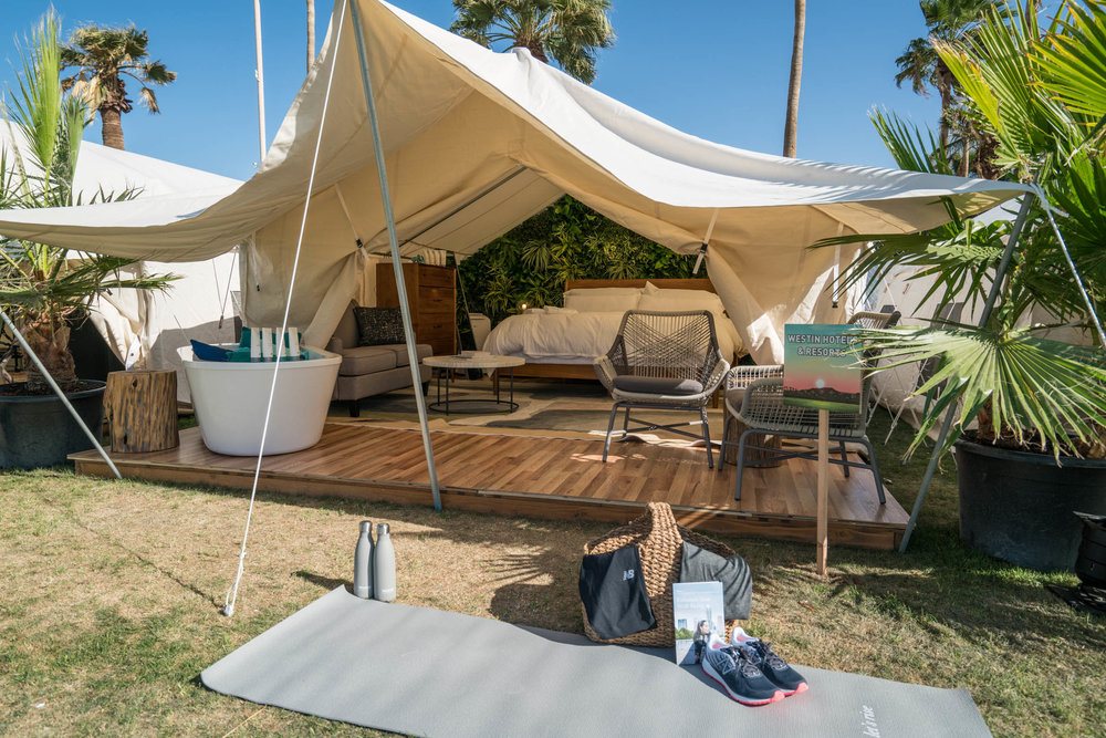 Marriott's Pop-Up Hotel Experience at Coachella