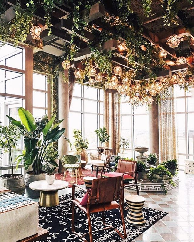 "Taking ""living space"" to a whole new level. 🌿 📸: @ny_scene . . . . #travel #travelblogger #garden #plants #art #beautifuldestinations #adventure #outdoorsin #lifestyle #mydomaine #decor #decorinspo #plantsofinstagram"