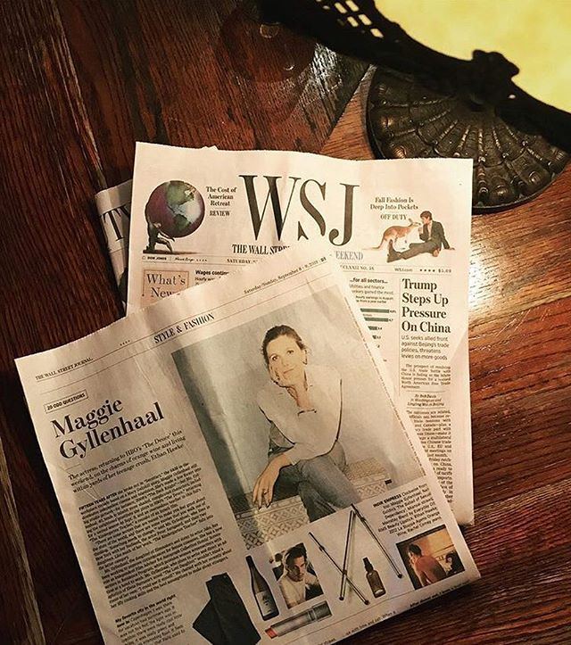 Check out the Indie Empress @mgyllenhaal in the latest Wall Street Journal as she discusses her work as @autographhotels' Independent Film Advisor ✨ @wsj #autographcollection #exactlylikenothingelse 📸: @toulchy . . . . #travel #travelblogger #film #independentfilm #beautifuldestinations #adventure #wallstreetjournal #lifestyle #autographcollection #autographhotels