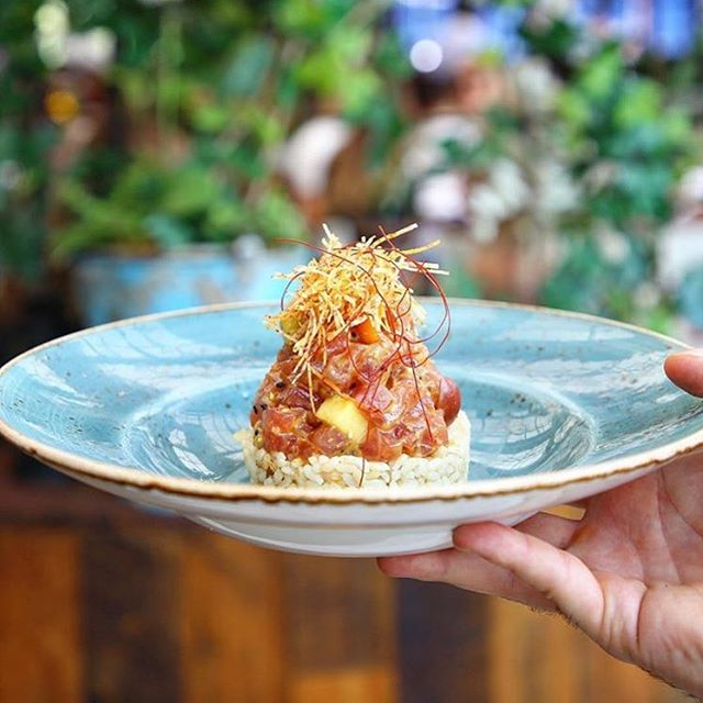 Poke, please 🍣🍚 📸: @catch #CatchLA . . . . #travel #travelblogger #beautifuldestinations #adventure #vacation #lifestyle #californiacuisine #poke #foodie #food #foodstagram #catchLA