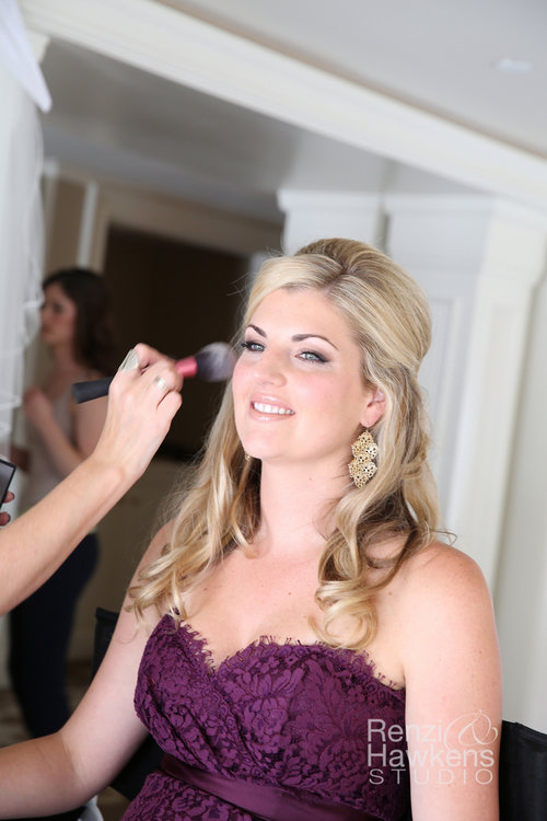 Vermont Wedding Makeup