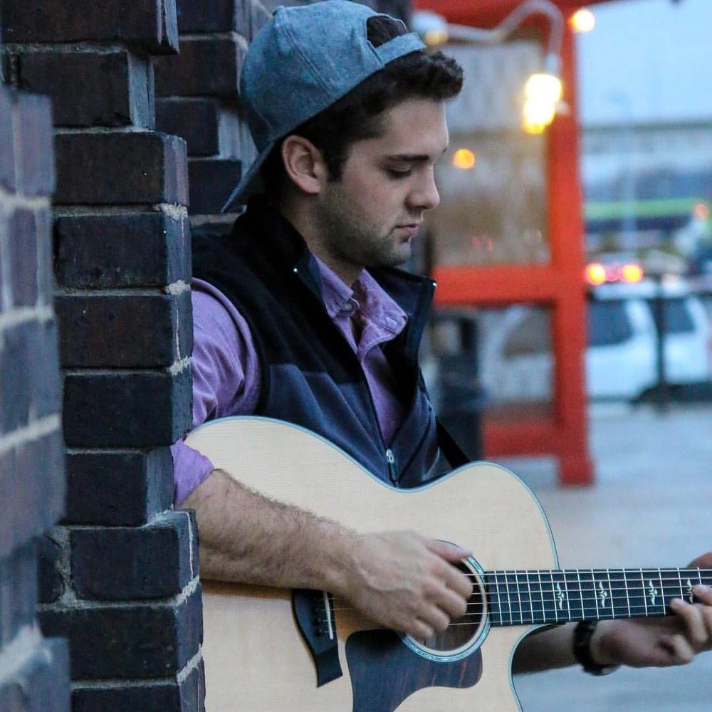 Lucas Roy - 23 year old singer/songwriter. His music is influenced by Ed Sheeran, James Bay, Billy Joel, and Eminem. He has roots in Folk, Pop, and Rock. He is the lead singer of a band called