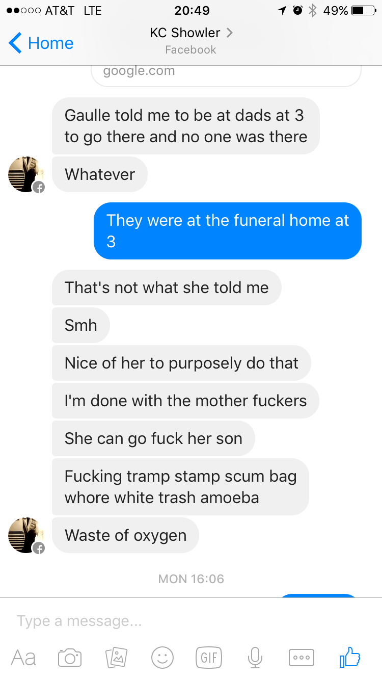 F for Funeral
