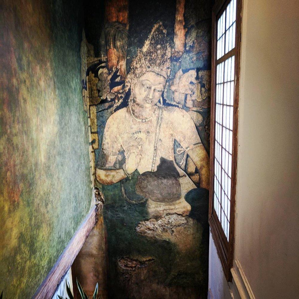 The centro de budismo in the neighborhood of Roma, Mexico City