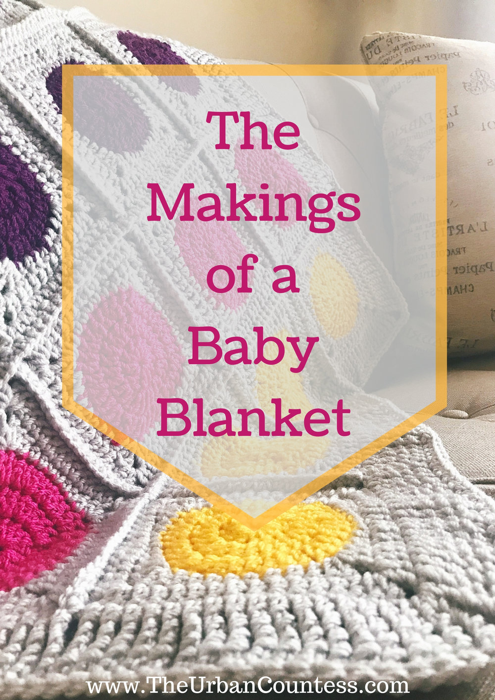 |The Makings of a Baby Blanket| Come see the inspiration behind this beautiful blanket!