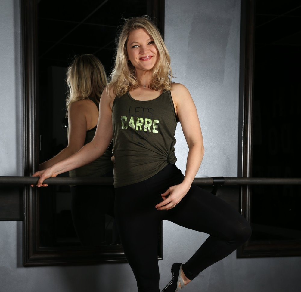 Amanda Shelley    Barre Instructor