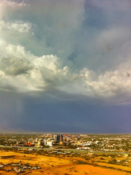 Storm over Tucson