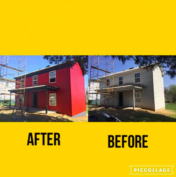 House to Home Painting and Fencing  johnathanbanks879@yahoo.com