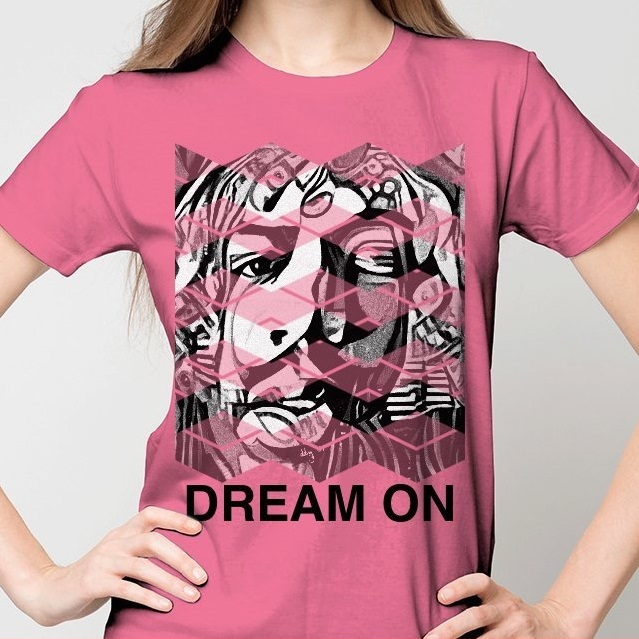 dream on womens tee.JPG