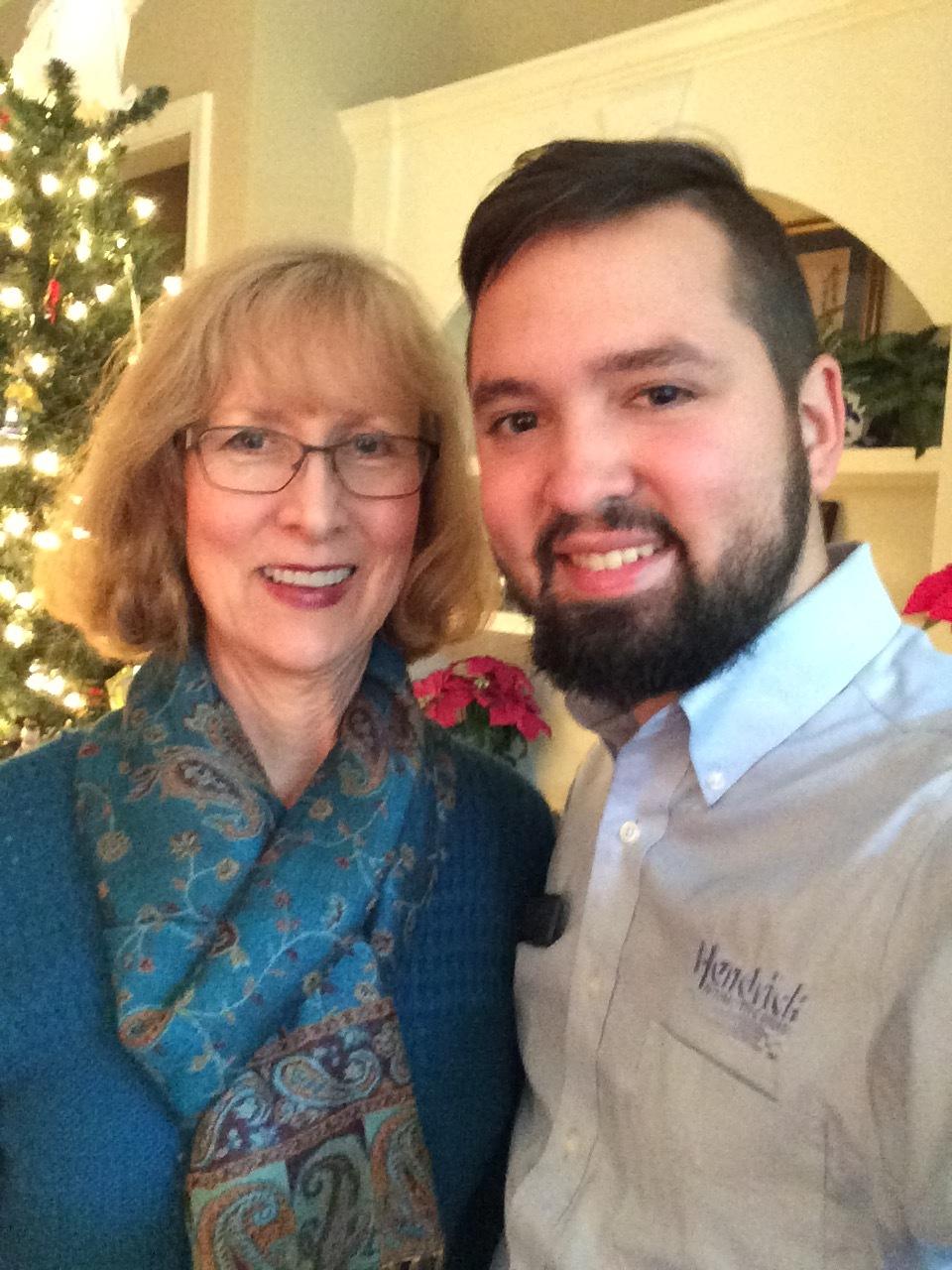 Karen Labarr and son.jpg