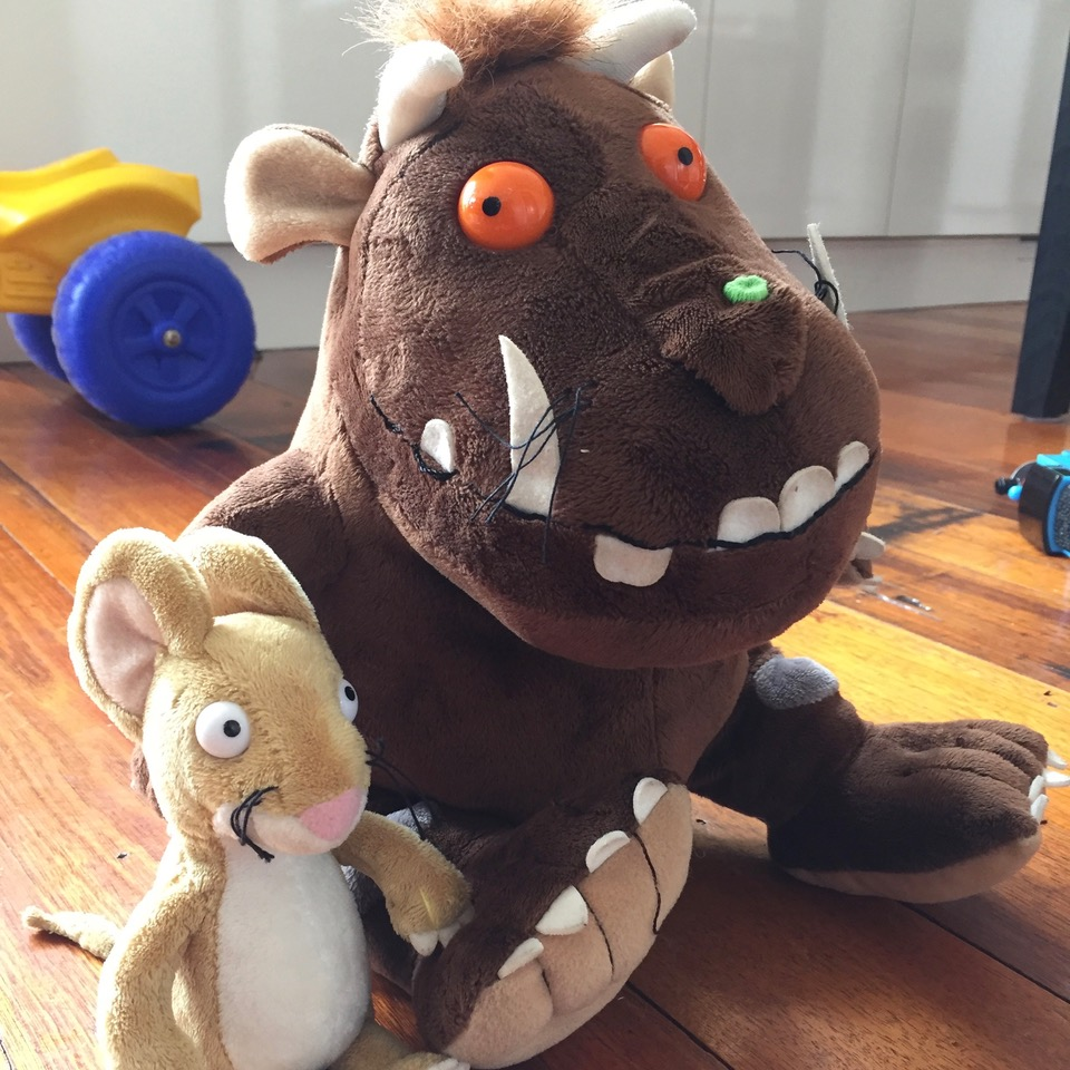Gruffalo soft toys (Worldwide) - Gardners Books Ltd via Book Depository