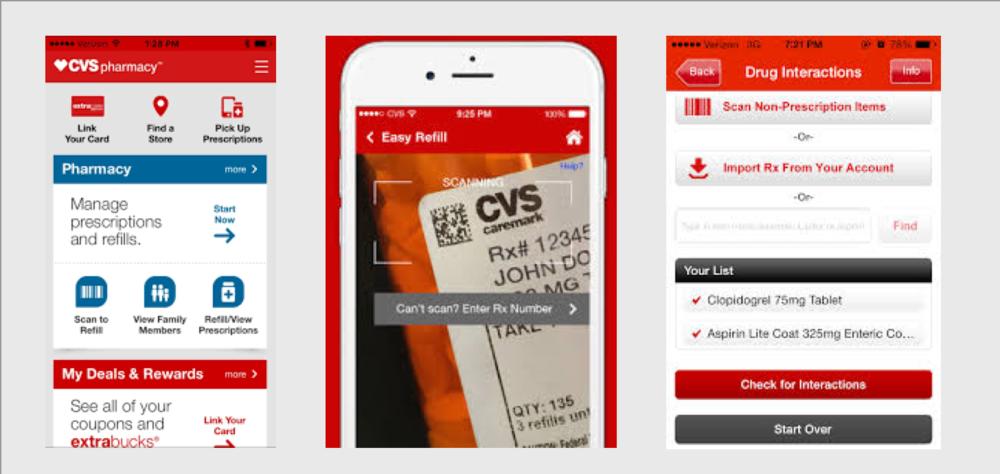 Reviewing competitor's prescription refill app