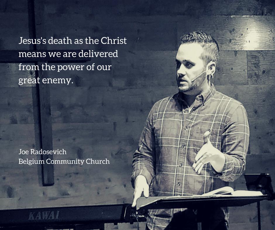Listen Here:http://belgiumchurch.libsyn.com/behold-jesus-death