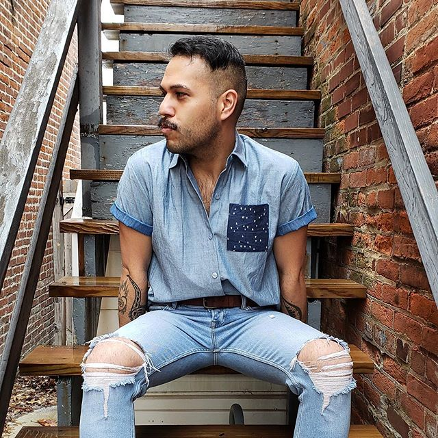 A genuine Day will come When the wind Decides to run And shakes the stairs That stab the wall And turns a page In the future age • Jeff Tweedy | In a Future Age . #sundaydreaming #denimblues #justlivin . good vibes ambassador | @nato81