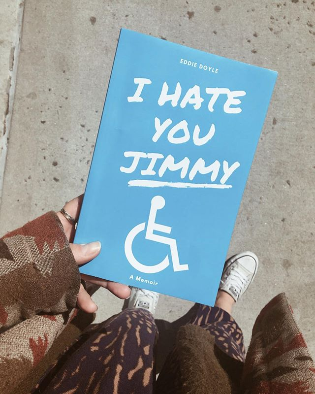 This was one of the best books I've worked on. The stories are really funny and Eddie totally gets what it means to lean into narrative voice. : Official pub day is May 11 but it came in the mail and I'm too excited to wait. And anyway you can preorder it from IHATEJIMMY.COM 👌 : : : #newbookwhodis #eddiedoyle #ihateyoujimmy #pubday #indiebooks #newauthor #newbookalert #memoir #stories #funnybooks #yeahiread #writeitdownmakeithappen #phillywriters #writersclub #bookclubofinstagram #whatimreadingnow #nextread #booklife #writersunite #coolbooks #goodreading #boutthatbooklife #wordnerd