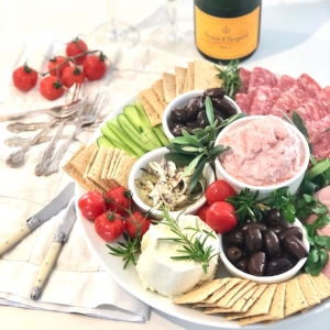 A Cracker Antipasto Platter