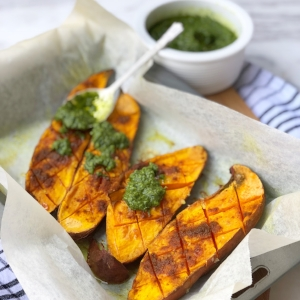 Sweet Potato with Gremolata - Gluten Free