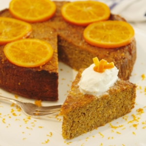 Orange and Almond Cake - Gluten, Diary and Refined Sugar Free