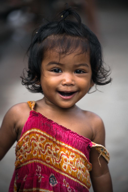 Cambodian girl.