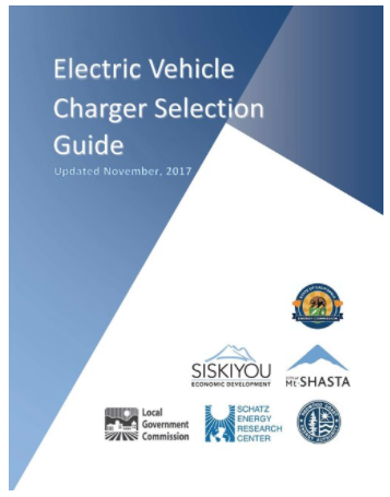 NEW! EV Charger Selection Guide - Check out our new reference guide developed by the Schatz Energy Research Center!
