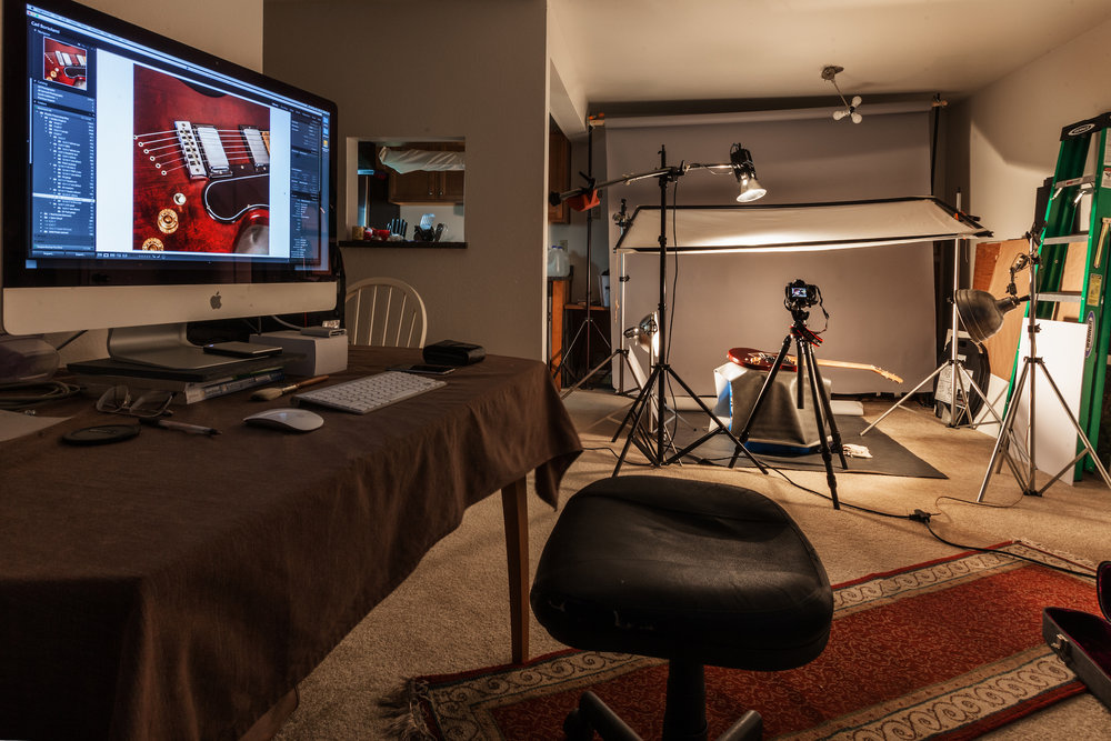 The Winter photo studio