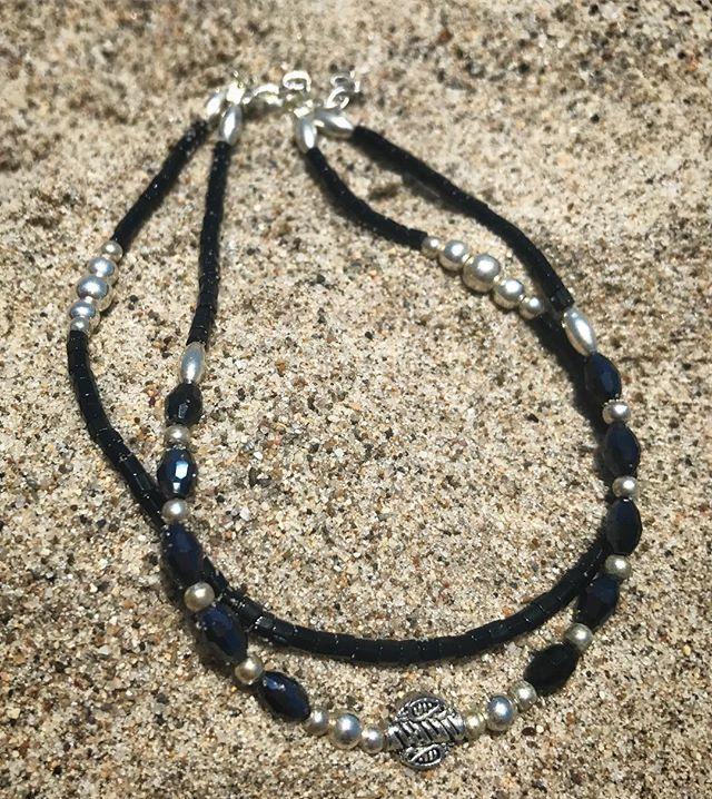 #anklets #handmadejewelry #beachy #anklebracelet