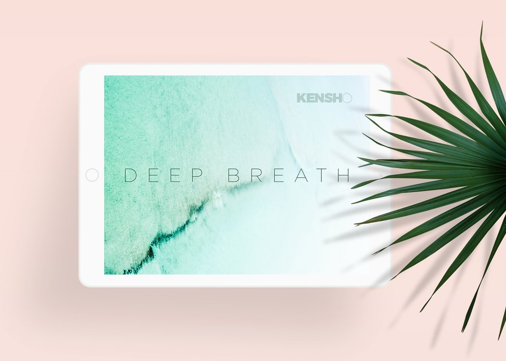 Deep Breath Tablet Wallpaper -