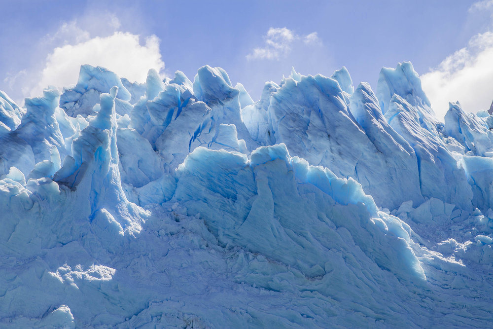 Perito Moreno Glacier. Patagonia. Argentina.  A mind-blowing view.